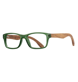 BLUE PLANET EYEWEAR READERS OJAI GREEN