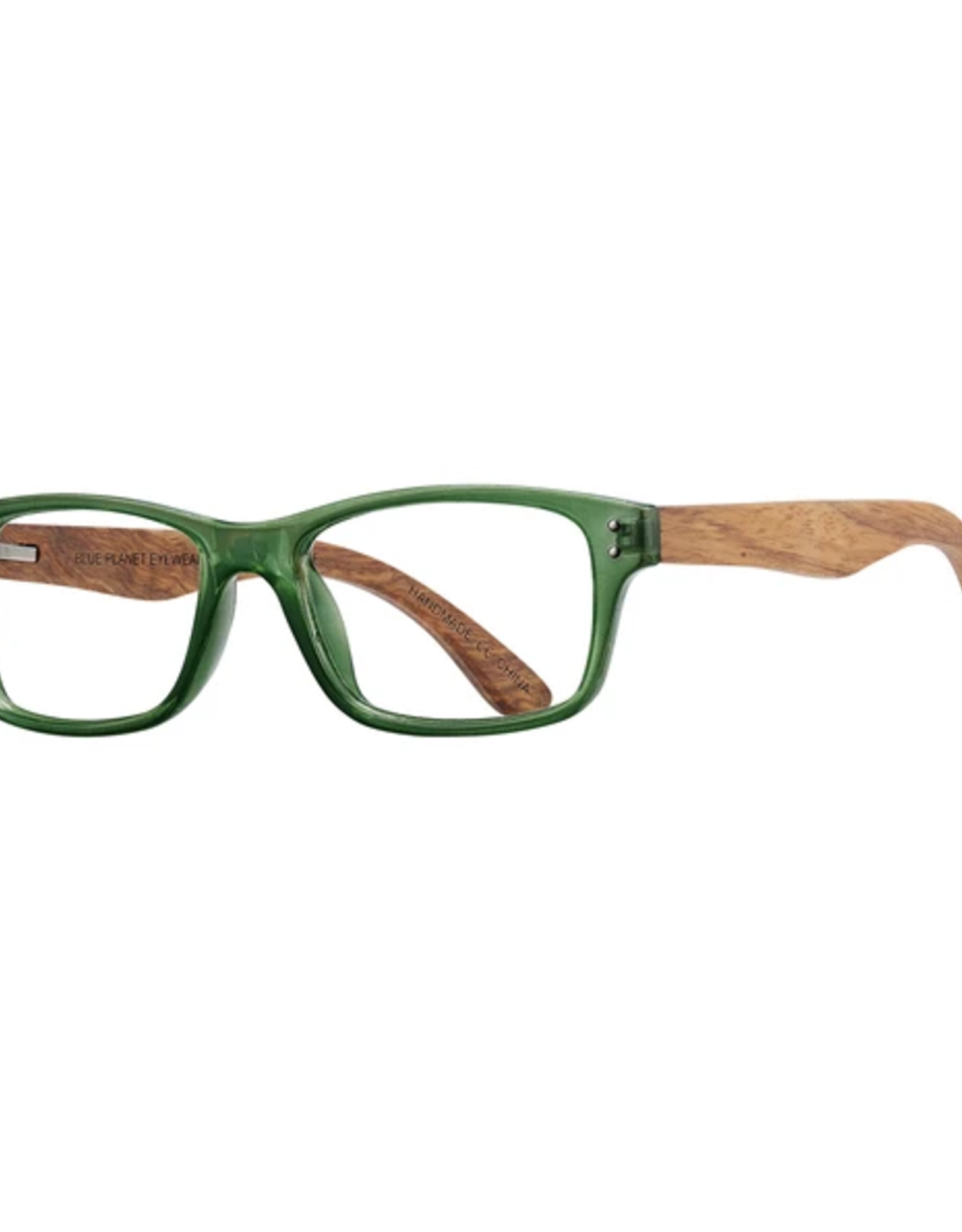 BLUE PLANET EYEWEAR GLASSES READERS OJAI GREEN