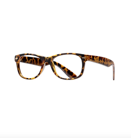 BLUE PLANET EYEWEAR GLASSES READERS CLASSIC HONEY TORTOISE