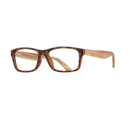 BLUE PLANET EYEWEAR GLASSES READERS AVALON WALNUT TORTOISE