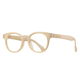 BLUE PLANET EYEWEAR GLASSES READERS SUNRISE BEIGE