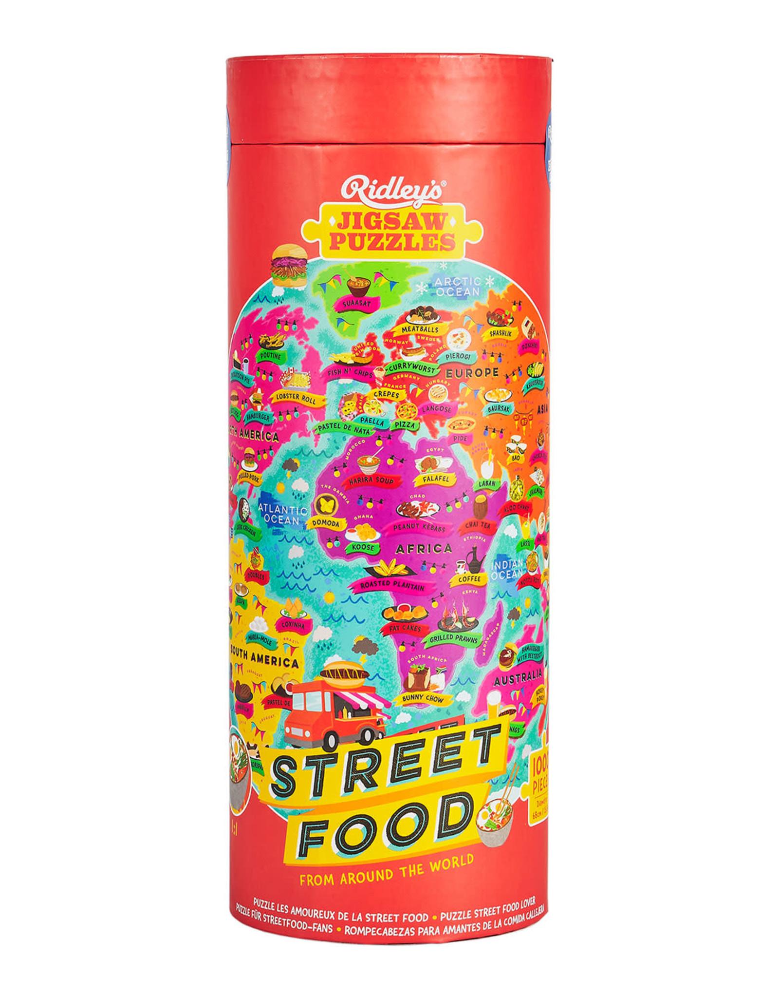 PUZZLE 1000PCS STREET FOOD LOVERS