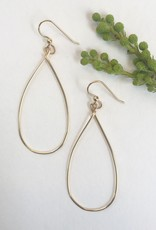 SAVANNAH GOODWIN EARRING SARA TEARDROP HOOP