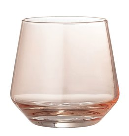 DRINKING GLASS BLUSH 12OZ