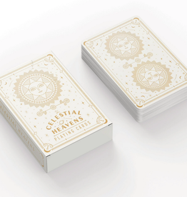 PLAYING CARDS CELESTIAL HEAVENS IVORY