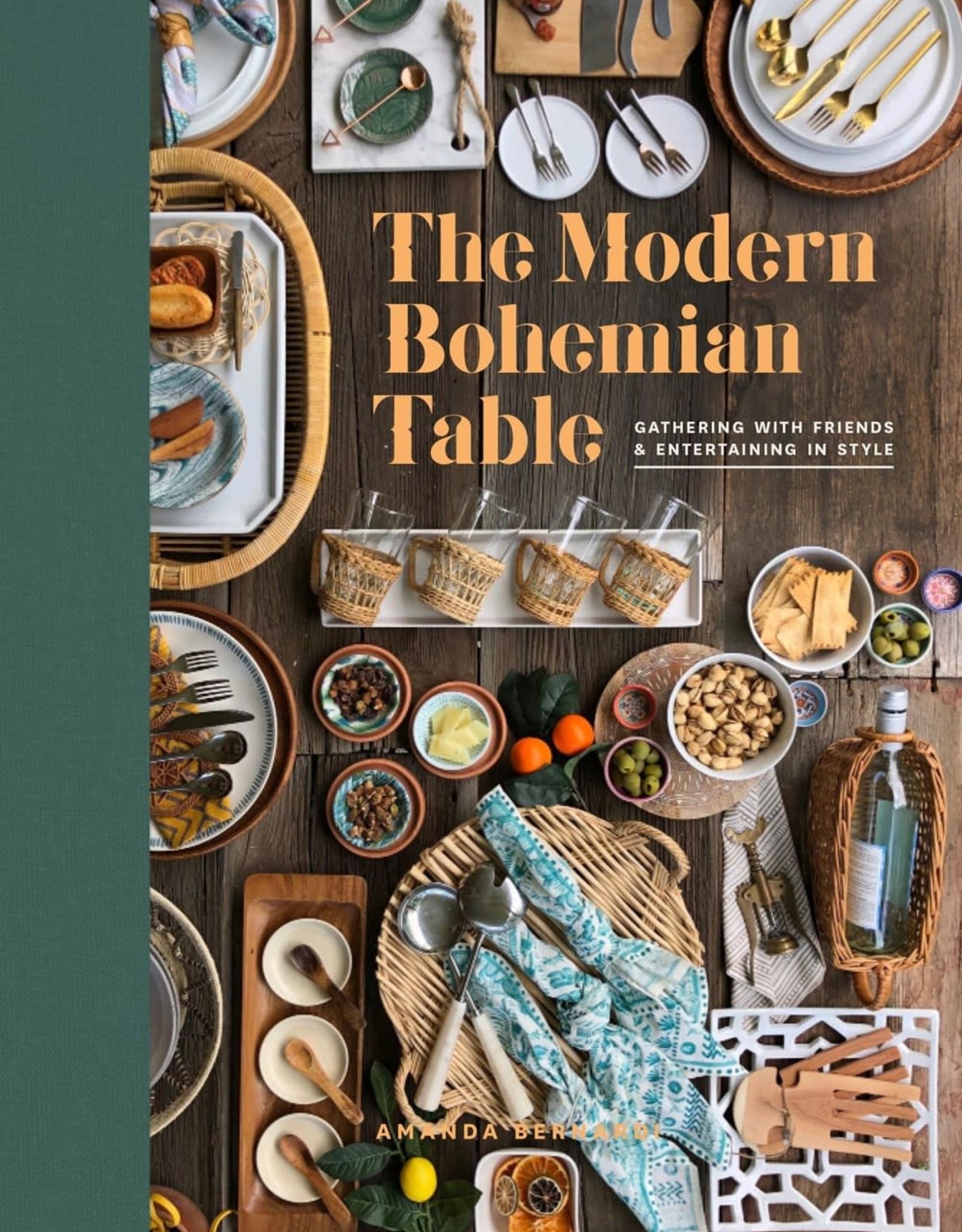 PENGUIN RANDOM HOUSE THE MODERN BOHEMIAN TABLE