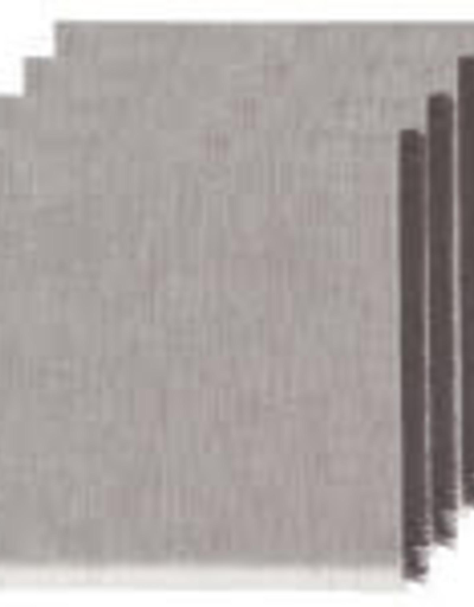 NOW DESIGNS NAPKIN CLOTH 18X18 INCH HEIRLOOM SHADOW GREY