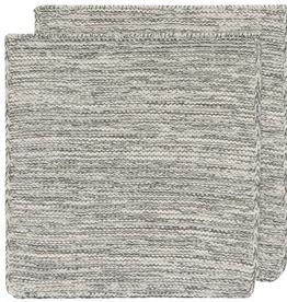 DISHCLOTH KNIT 8X8 HEIRLOOM JADE GREEN