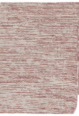 NOW DESIGNS DISHCLOTH KNIT 8X8 HEIRLOOM WINE RED
