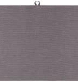 TOWEL DISH 18X28 LINEN SHADOW GREY