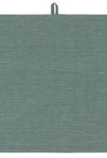 TOWEL DISH 18X28 LINEN JADE GREEN