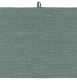 NOW DESIGNS TOWEL DISH 18X28 LINEN JADE GREEN