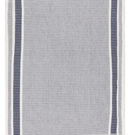 NOW DESIGNS TOWEL DISH 18X28  SOFT WAFFLE WEAVE INDIGO BLUE