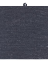 NOW DESIGNS TOWEL DISH 18X28 LINEN MIDNIGHT BLACK
