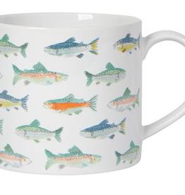 NOW DESIGNS MUG 14OZ GONE FISHING