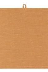 TOWEL DISH 18X28 LINEN OCHRE YELLOW