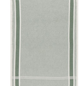 TOWEL DISH 18X28  SOFT WAFFLE WEAVE JADE GREEN