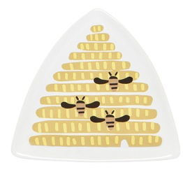 NOW DESIGNS TRAY TRINKET FRIDA BEEHIVE