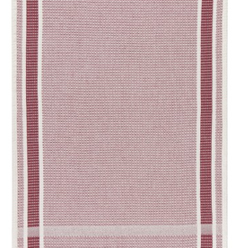 NOW DESIGNS TOWEL DISH 18X28  SOFT WAFFLE WEAVE WINE RED