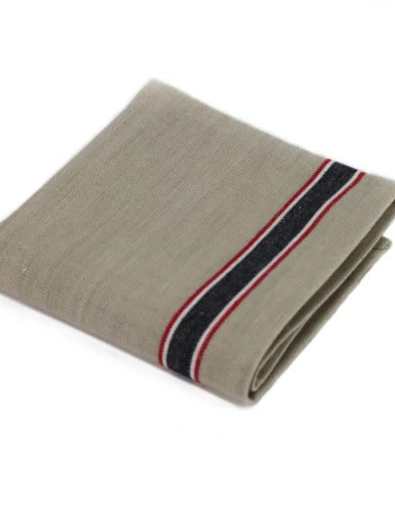TOWEL DISH FRENCH LAUNDRY BLACK