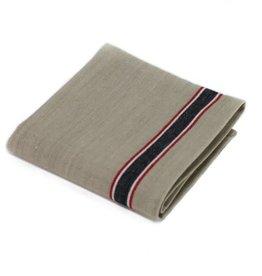 MAHOGANY TOWEL DISH FRENCH LAUNDRY BLACK