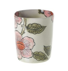 POT CERAMIC FLORAL LITTLE DAISY 3 X 3.25 PINK