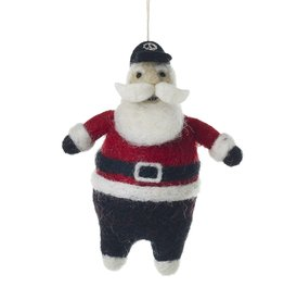 ORNAMENT SANTA HIP 4.5 INCHES NEW YORKER