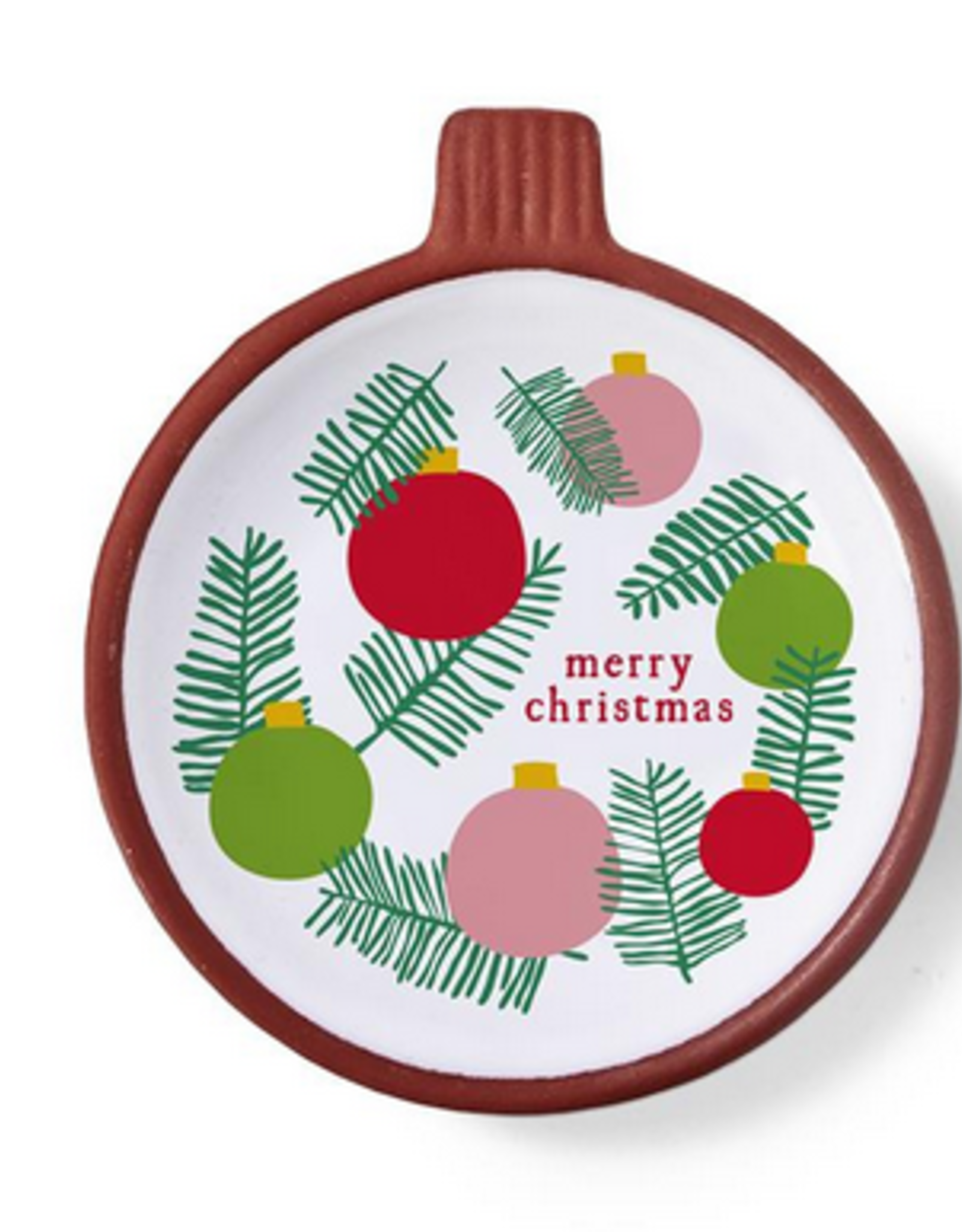 HOLIDAY TRINKET BOWLS BULB MERRY CHRISTMAS
