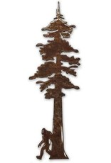 MAGNET REDWOOD TREE WITH BIGFOOT