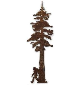 MAGNET REDWOOD TREE WITH BIGFOOT