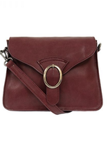 PURSE HANDBAG CONVERTIBLE BUCKLE DREA BURGUNDY