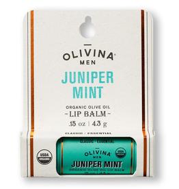 OLIVINA LIP BALM JUNIPER MINT
