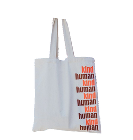 TOTE BAG KIND HUMAN