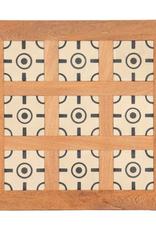 TABLE BUNCHING PONCHO CREMA EBONY