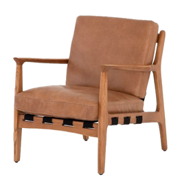 CHAIR SILAS PATINA COPPER