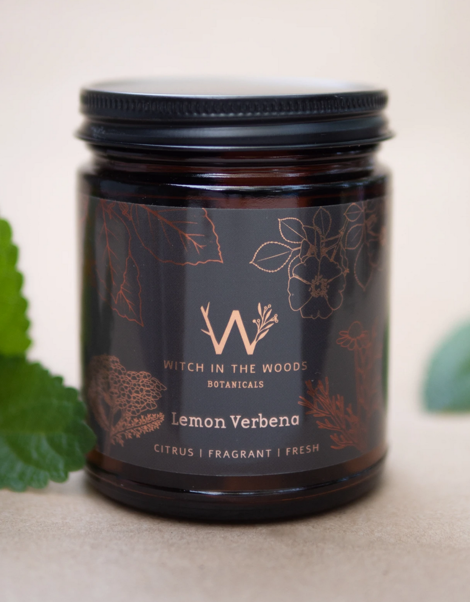 WITCH IN THE WOODS CANDLE LEMON VERBENA 7.2 OZ