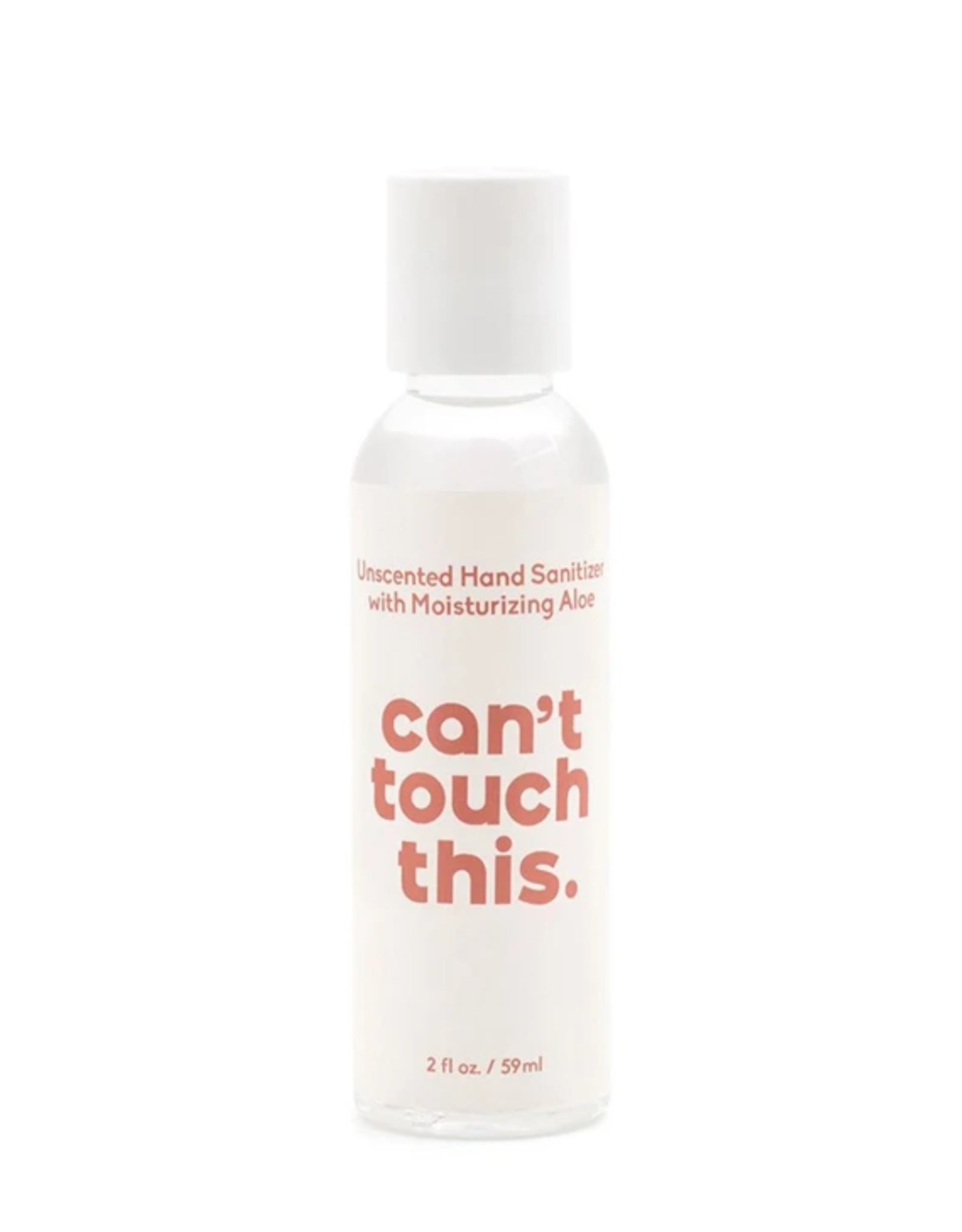 HAND SANITIZER 2OZ WHITE CAN'T TOUCH THIS