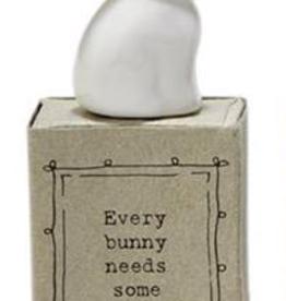 FIGURINE ANIMAL INSPIRATIONAL GIFT BOX - BUNNY