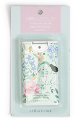 HAND SANITIZER SLIM BIRDS OF A FEATHER ALOE GREEN