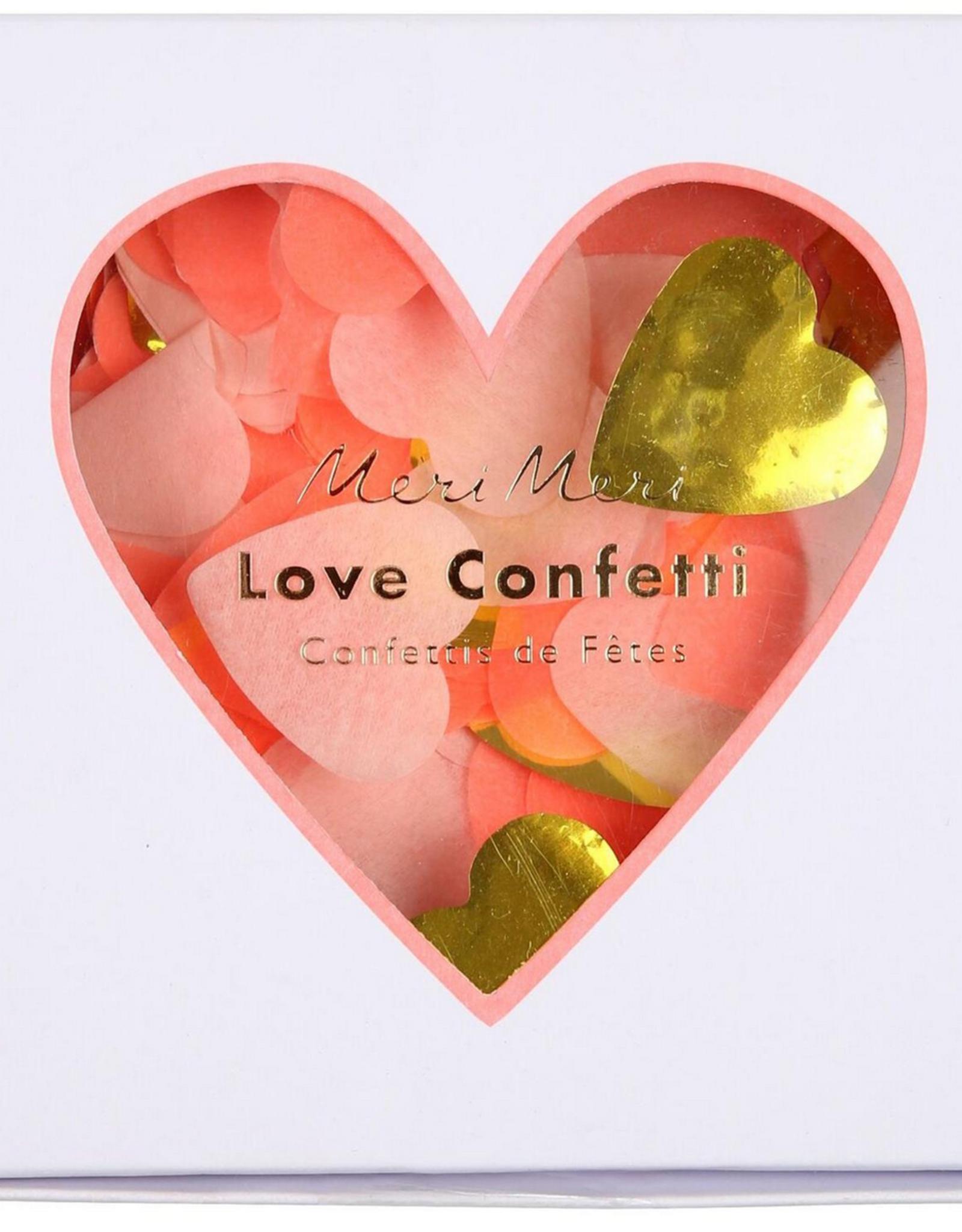 CONFETTI LOVE HEART BOX