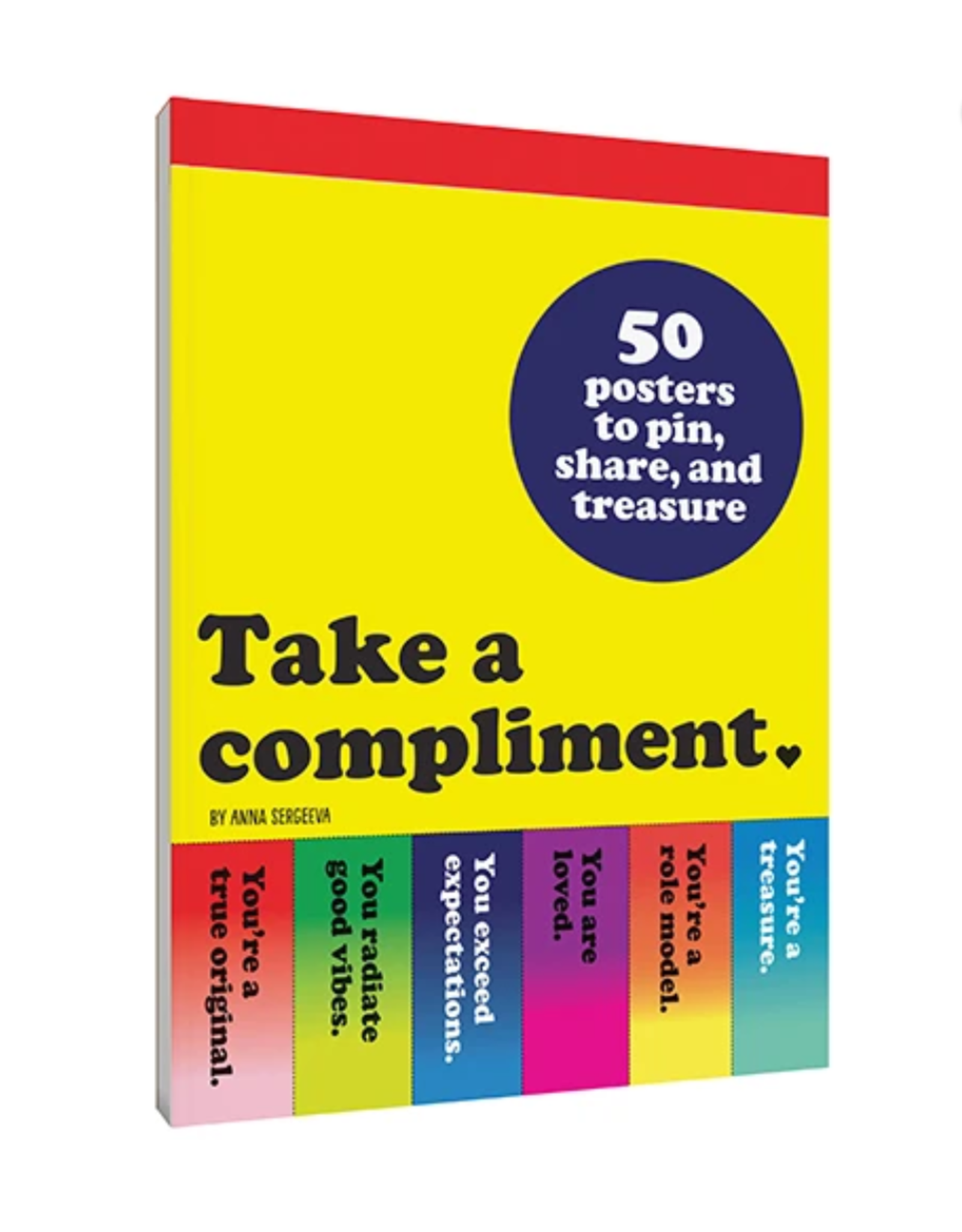 CHRONICLE BOOKS TAKE A COMPLIMENT 50 POSTERS