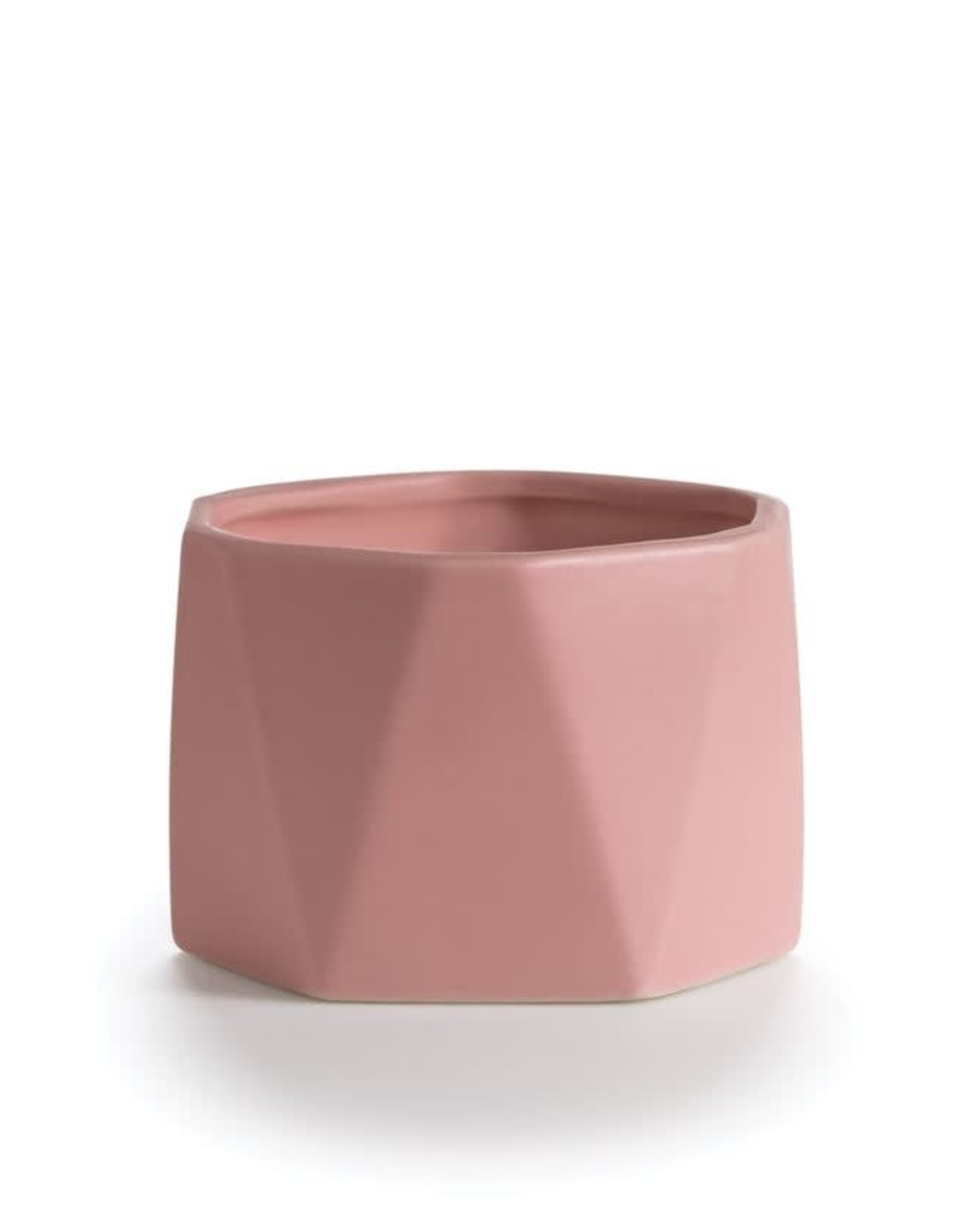 CANDLE DYLAN CERAMIC HEXAGON THAI LILY