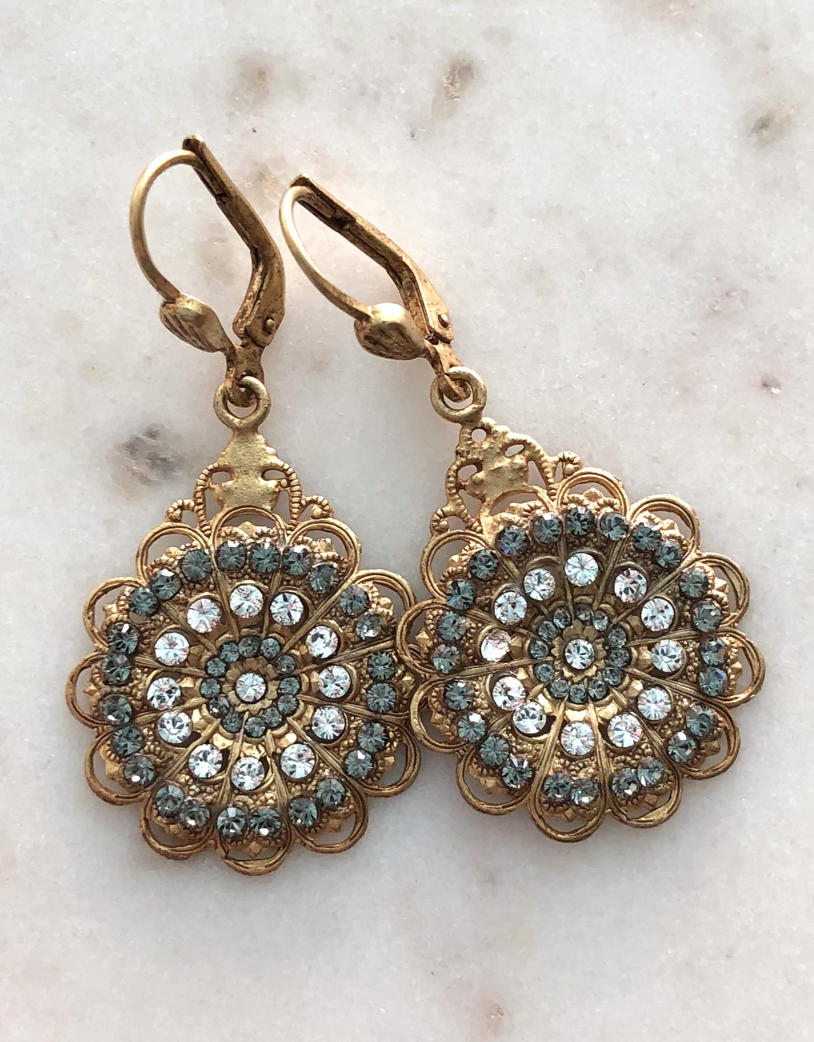 EARRING GOLD ROUND
