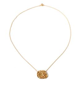 BLUMA PROJECT NECKLACE CHOKER TESS EMBOSSED PLATE GOLD