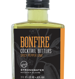 COCKTAIL BITTERS BONFIRE SPICY PEPPER AND LIME