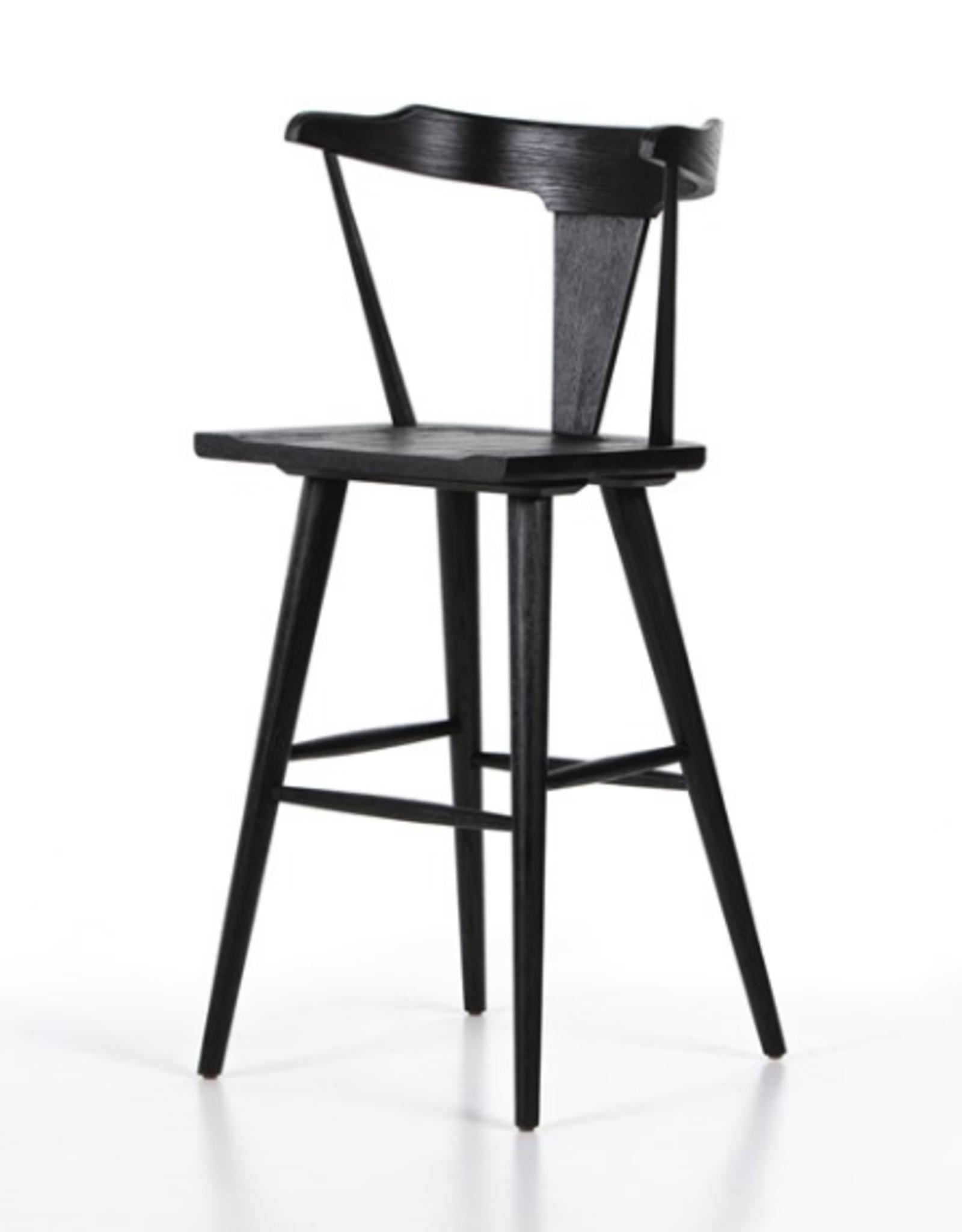 STOOL RIPLEY BLACK OAK COUNTER HEIGHT