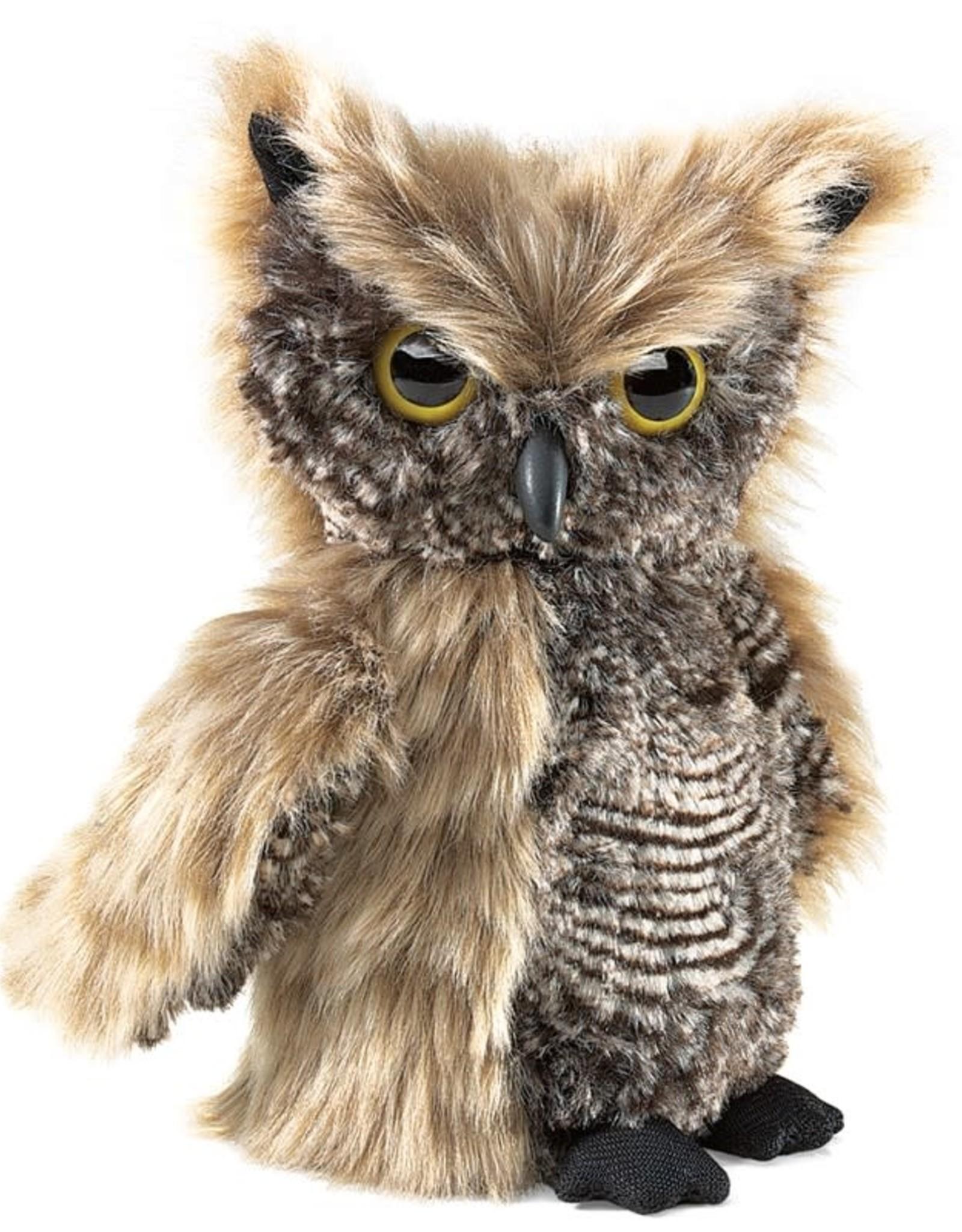 PUPPET SCREECH OWL