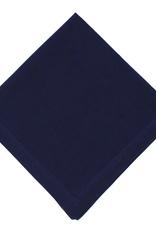 MAHOGANY NAPKIN SOLID NAVY BLUE 18 X 18