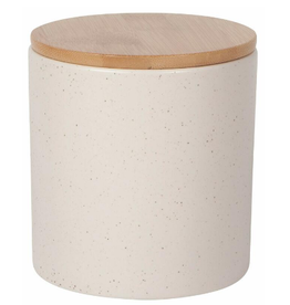 NOW DESIGNS CANISTER TERRAIN SANDSTONE SPECKLED BEIGE