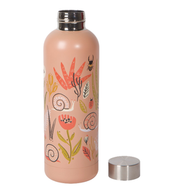 NOW DESIGNS WATER BOTTLE 17OZ SMALL WORLD